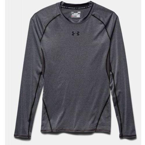 Koszulka treningowa Under Armour HeatGear® Armour Long Sleeve Compression Shirt M 1257471-090, kolor szary