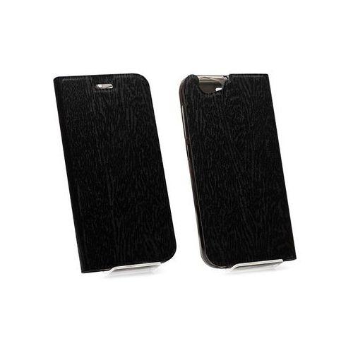 HTC One (A9s) - etui na telefon Flex Book - czarny, ETHC429FLBKBLK000