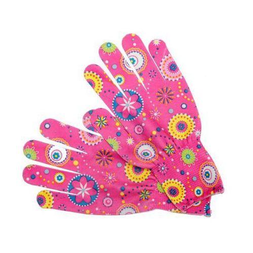 Rękawice ogrodowe FLO 74117 Wielokolorowy (rozmiar 8) (5906083741173)