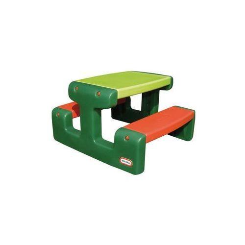 Mały stół piknikowy zielony marki Little tikes