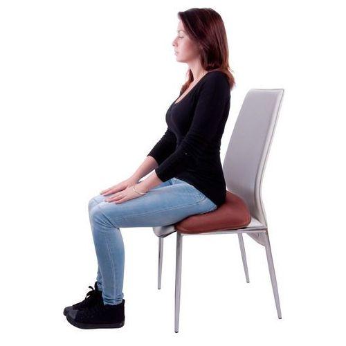 Poduszka do siedzenia pompowana inSPORTline P10, Pomarańczowy