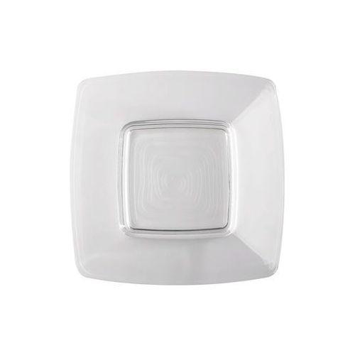 talerz szklany kwadratowy 25 cm marki Jasło