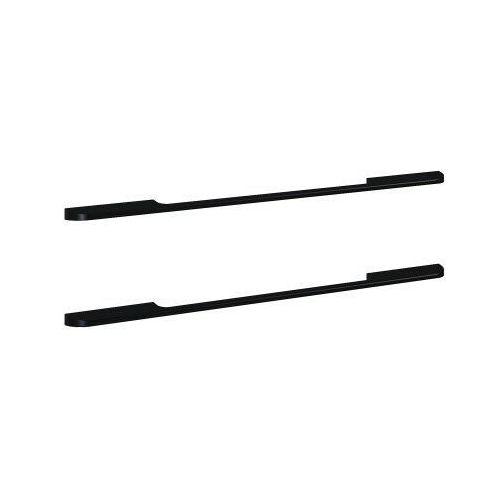 ELITA uchwyty Barcelona metalowe, black, do szafek podumywalkowych 80, 2 sztuki 167175
