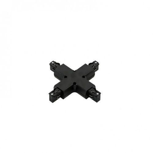Italux 4 Phase Track - Cross Joint - Black TR-PLUS-JOINT-BL Złączka krzyżowa do mocowania szyn Czarna