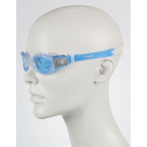 Okulary  futura biofuse clear-blue 8012320486 - clear/blue marki Speedo