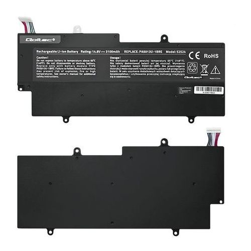 Bateria Qoltec Li-Pol, 14.8V, 3100 mAh (52524) Darmowy odbiór w 20 miastach!, 52524
