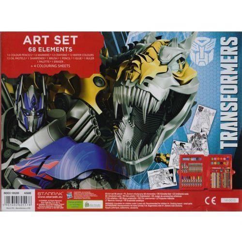 Starpak - Transformers - Zestaw artystyczny, 68 elementów - Starpak (5907604605578)