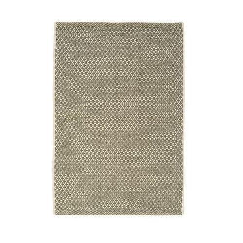 Dywan bawełniany ADEL ciemnoszary 65 x 110 cm INSPIRE