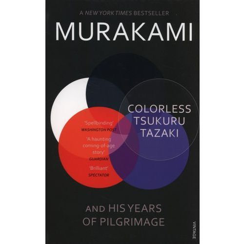 Colorless Tsukuru Tazaki and His Years of Pilgrimage, oprawa miękka