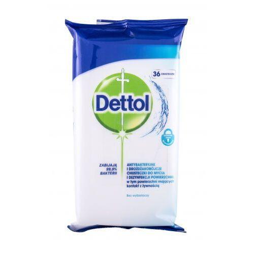 Dettol antibacterial cleansing surface wipes antybakteryjne kosmetyki 36 szt unisex (5900627074321)