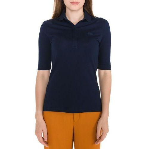 Lacoste Polo Koszulka Niebieski S, kolor niebieski