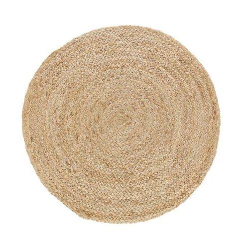 Dywan okrągły z juty śr. 80 cm INSPIRE (3276000688174)