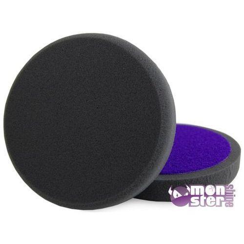 Monster Shine - Pad polerski wykańczający czarny gładki 80mm Finishing Pad - produkt z kategorii- Pasty polerskie do karoserii