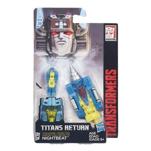 Hasbro Transformers generations titan masters nightbeat - (5902002960298)