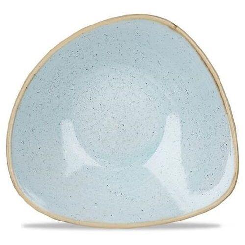Churchill Miska porcelanowa trójkątna duck egg blue śr. 18.5 cm