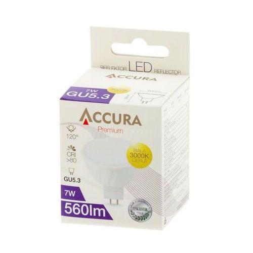 Żarówka LED SMD2835 7W MR16 12V ciepła ACCURA - sprawdź w wybranym sklepie