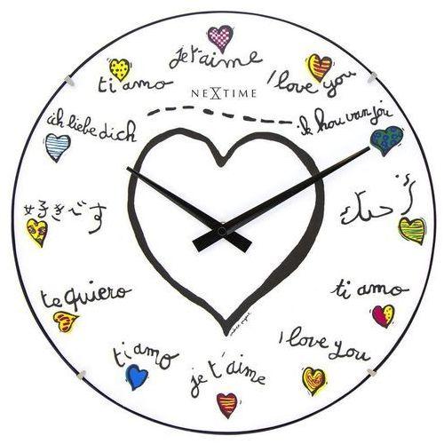 - zegar ścienny loving you dome marki Nextime
