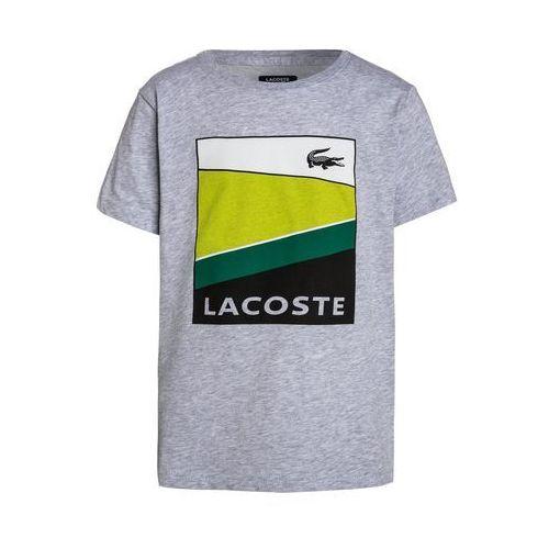 Lacoste Sport Koszulka sportowa silver chine/white/lemon tree/woodland green/black, TJ2869-00