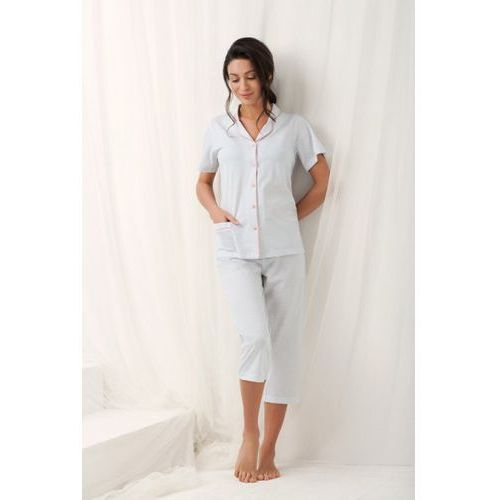Piżama damska model brenda 573 grey marki Luna
