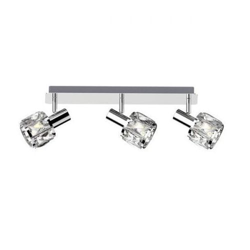 Zuma line niasa ck20181015-3 listwa lampa sufitowa spot 3x40w e14 srebrna (2011006536224)