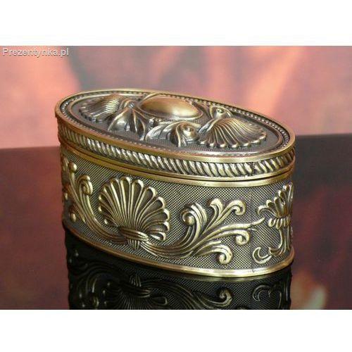 Szkatułka owalna stare złoto, kup u jednego z partnerów