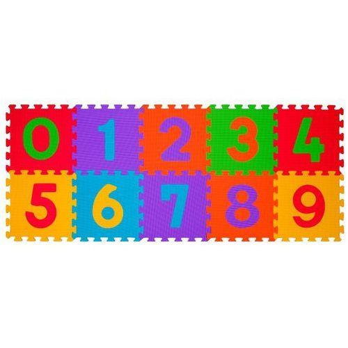 BABYONO 274 10szt Puzzle piankowe cyfry   DARMOWA DOSTAWA OD 200 ZŁ   GWARANCJA DOSTAWY DO ŚWIĄT (5901435404249)
