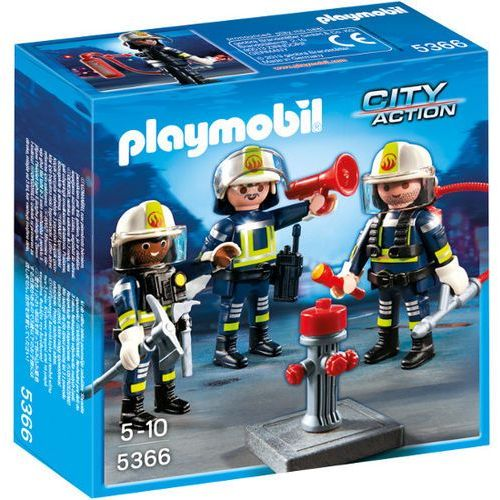 Playmobil CITY ACTION Grupa strażaków 5366