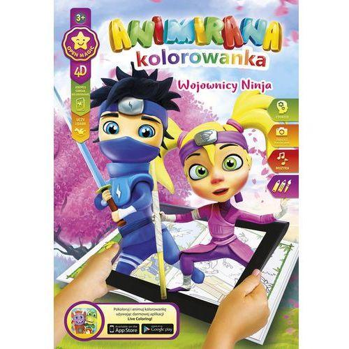 Kolorowanka a4/8 4d ninja marki Panta plast