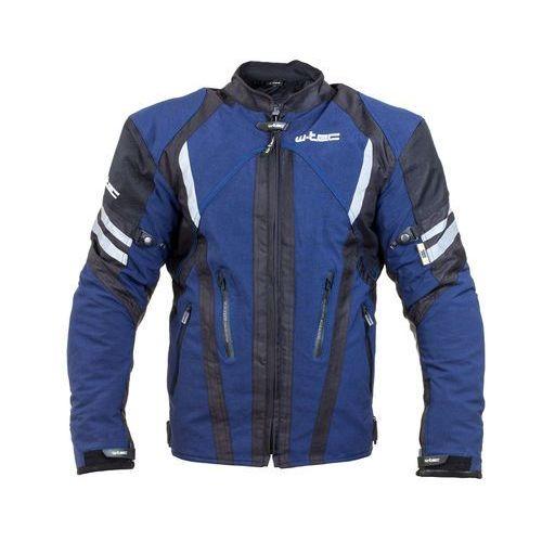 Męska kurtka motocyklowa briesau nf-2112, niebieski-czarny, xxl marki W-tec