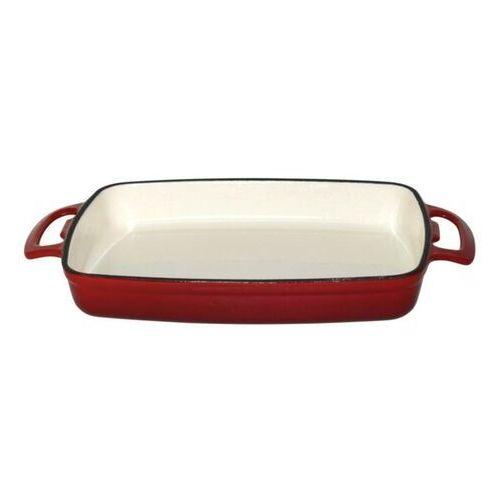 Naczynie żaroodporne | prostokątne | czerwone | różna pojemność