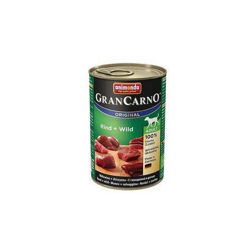 Animonda GranCarno Original Adult wołowina i dziczyzna 400g (4017721827362)