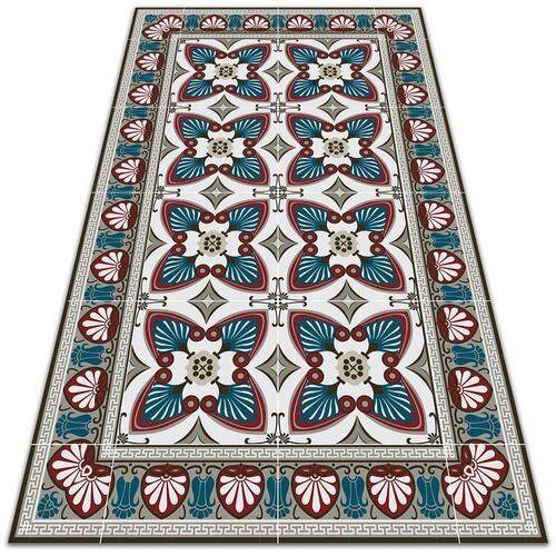 Modny uniwersalny dywan winylowy Modny uniwersalny dywan winylowy Styl pawie pióra