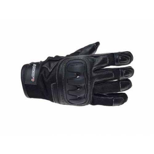 Rękawice motocyklowe markowe dakota czarne marki Leoshi