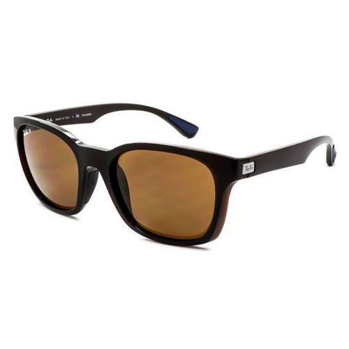 Ray-ban Okulary słoneczne rb4197f active lifestyle asian fit polarized 714/83