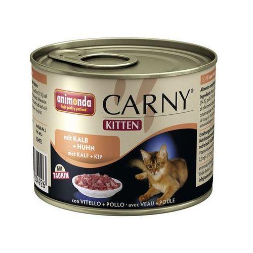ANIMONDA Carny kitten cielęcina kurczak 0.2 kg - DARMOWA WYSYŁKA OD 99 ZŁ