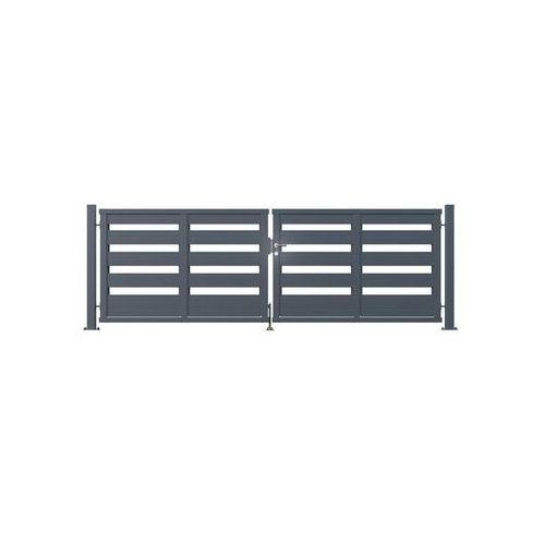 Polargos Brama dwuskrzydłowa element 422 x 140 cm