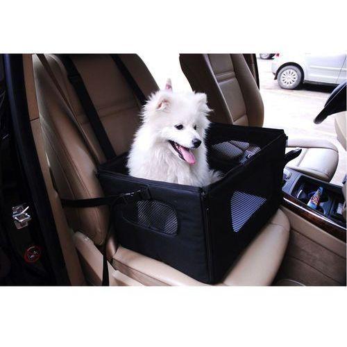 Siedzisko samochodowe dla małych psów - dł. x szer. x wys.: 47,5 x 38 x 27,5 cm marki Bitiba