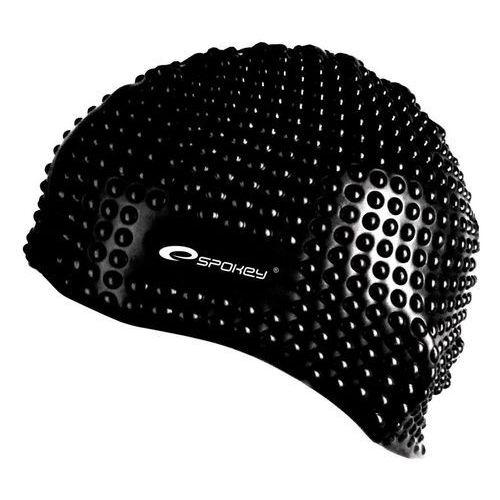 Spokey Czepek silikonowy bąbelkowy belbin 89914 czarny