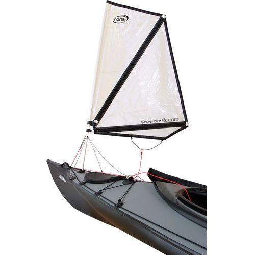 nortik Kayak Sail 0.8 for Faltboats biały 2018 Akcesoria kajakowe (4260289612509)