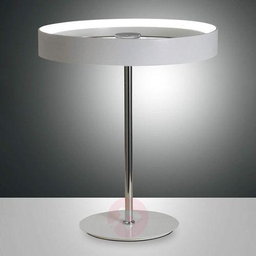 Fabas luce Purystyczna lampa stołowa led double, przełącznik