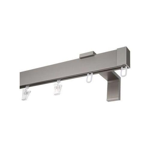 Karnisz APARTAMENTOWY 150 cm pojedynczy inox (5901969667004)