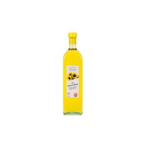Olej słonecznikowy tłoczony na zimno nieoczyszczony 1l Olvita