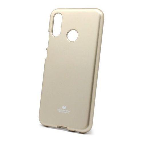 Silokonowe Etui Huawei P20 Lite Jelly Mercury złoty
