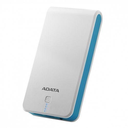 Adata powerbank ap20100 20100mah biało-niebieski 2.1a