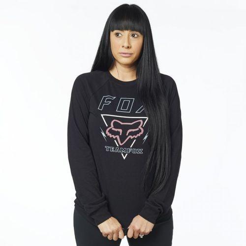 Fox_sale Fox koszulka lady z długim rękawem consulted black