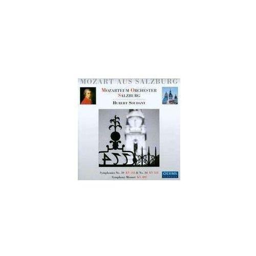 Symphony No. 39 Kv 543 / Symphony No. 34 Kv 338 / Menuet Kv 409