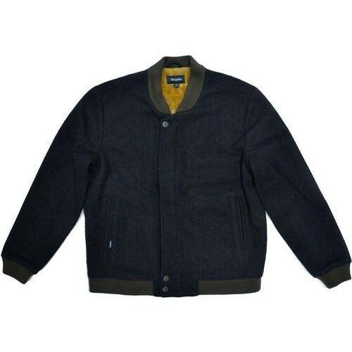 kurtka BRIXTON - Dillinger Jacket Brown/Black (0406), kolor brązowy