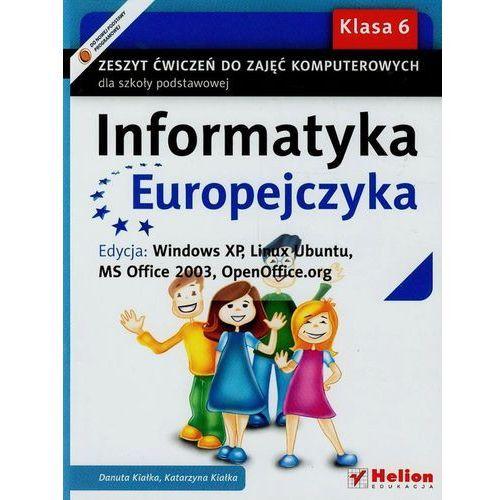 Informatyka Europejczyka. Zeszyt ćwiczeń do zajęć komputerowych dla szkoły podstawowej, kl (112 str.)