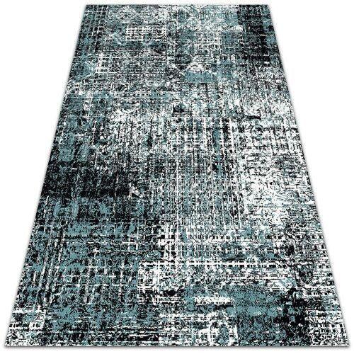 Piękny dywan zewnętrzny piękny dywan zewnętrzny wzór przetartej tkaniny marki Dywanomat.pl