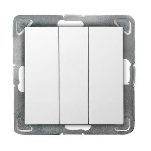 ospel Łącznik potrójny biały łp-13y/m/00 impresja ospel (5907577443368)